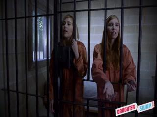 Отец трахнул двух молодых дочерей в тюрьме - видео для возбуждения!
