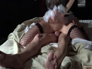 Порно видео с молодой девушкой и ее новым начальником - порно-кастинг